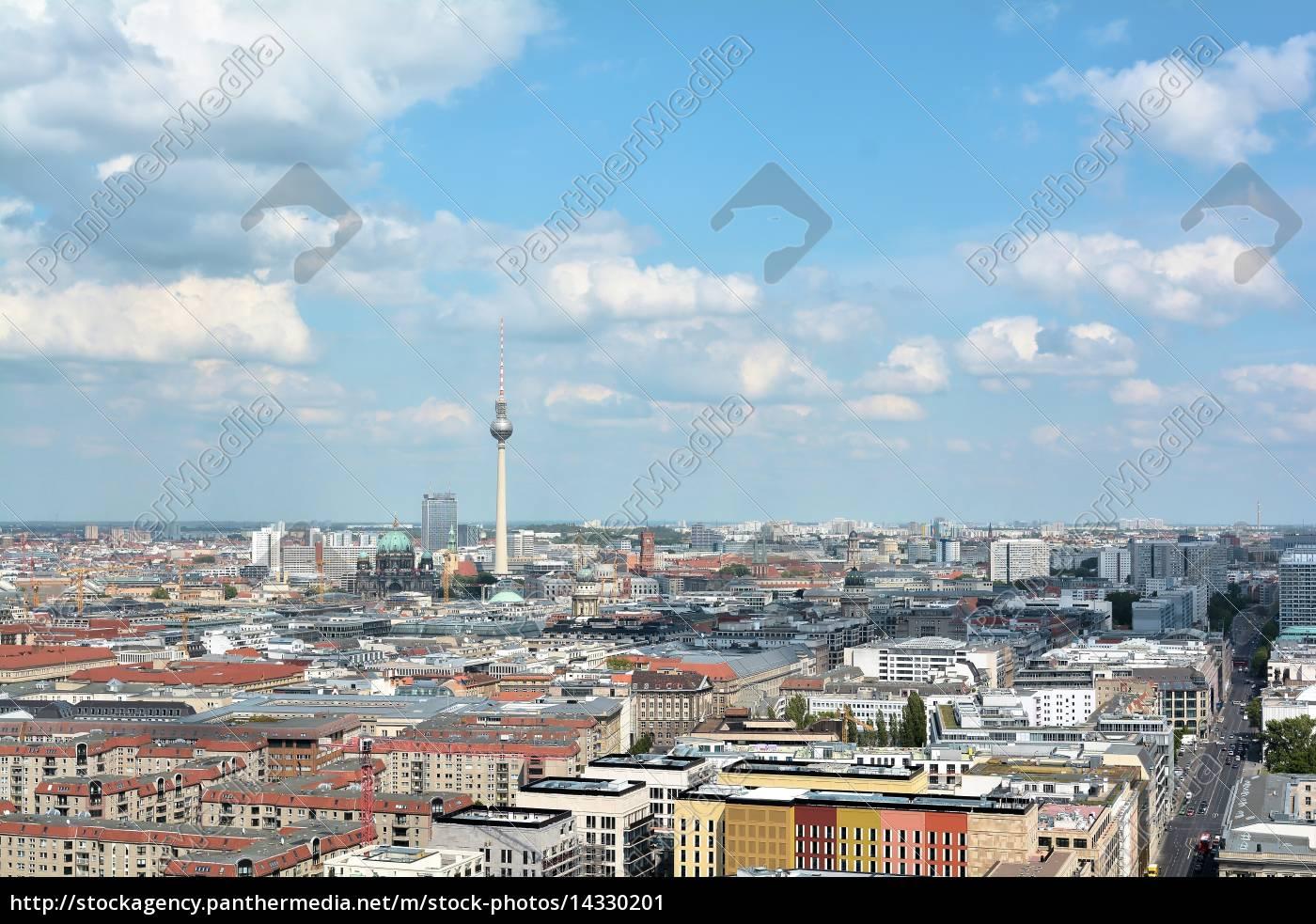 vista, desde, un, rascacielos, en, el - 14330201
