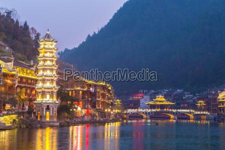 fenghuang antigua ciudad china