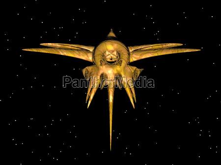 planeadores espaciales en el espacio