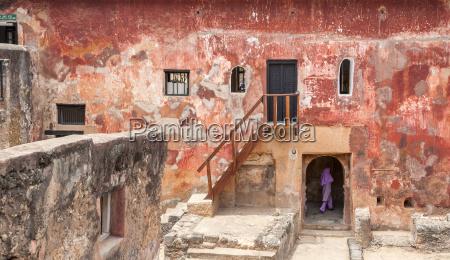 ruinas de la historica fortaleza jesus