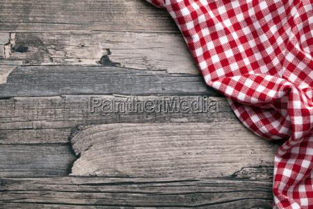 ver cocina mesa viejo panyo blanco