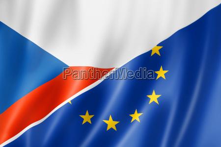 caucasico europeo europa bandera tscheche checo
