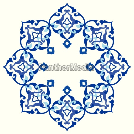 azul sumision oriental poligono schnittmuster orientale