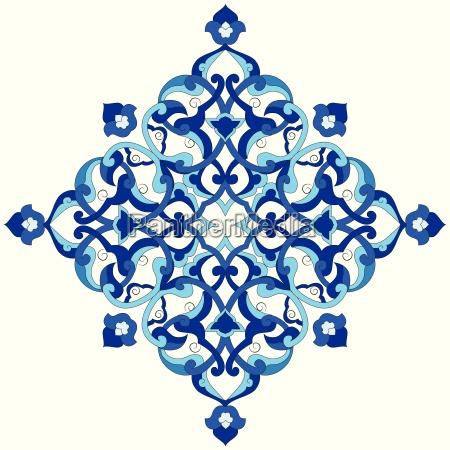 patron otomano artistico serie noventa y