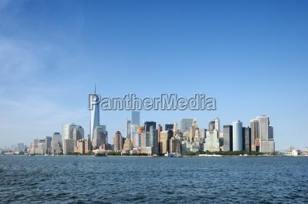 metropoli eeuu horizonte nueva york rascacielos