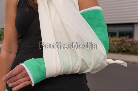lesion cura brazo ruptura fractura rotura