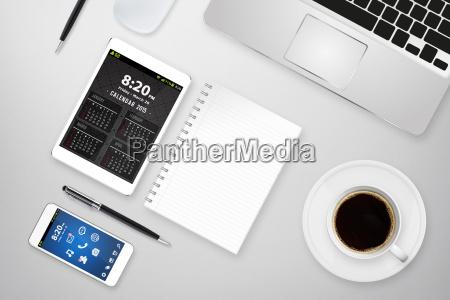 oficina lugar de trabajo digital tecnologia