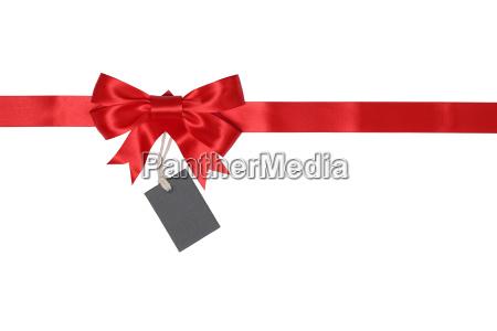 cinta de regalo con arco de