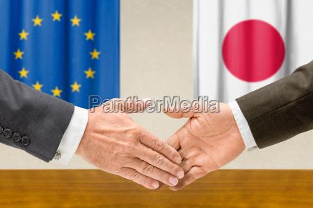 representatives of the eu and japan