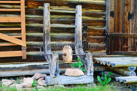 escalera casa construccion herramienta enorme piedra