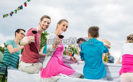pequenya celebracion o fiesta en el