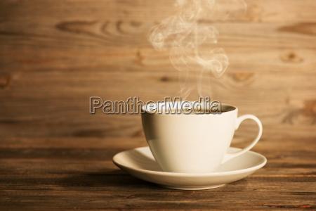 cocer al vapor el cafe caliente