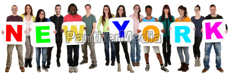 group of young people people holding