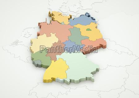 alemania y los paises vecinos