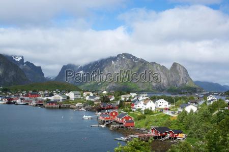 casa construccion verano veraniego noruega atlantico