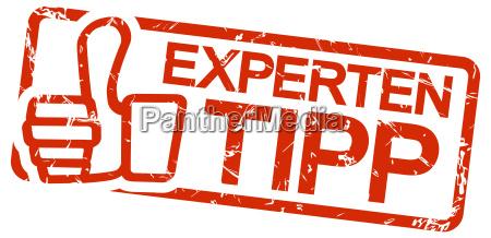 sello rojo sugerencia del experto