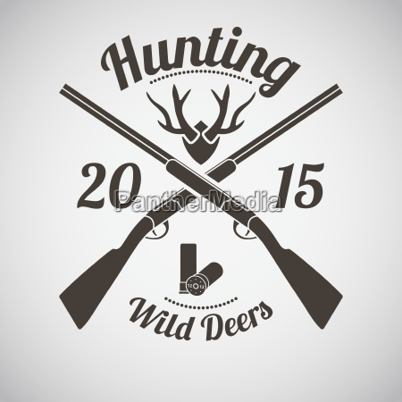emblema de caza