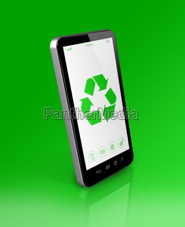 telefono movil ecologia reciclaje tratamiento reciclar