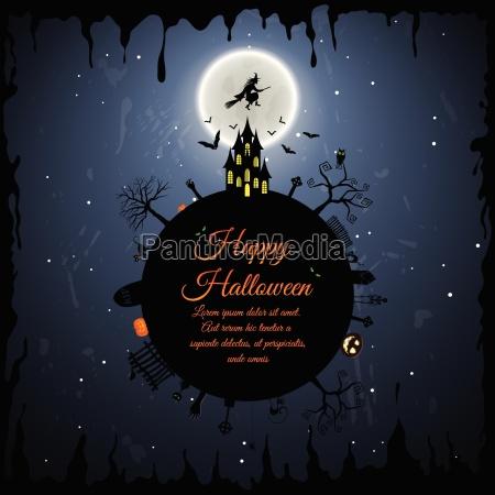 tarjeta de felicitacion de halloween