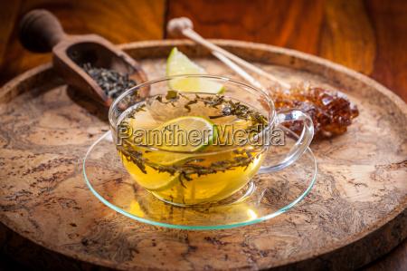 cup of green tea