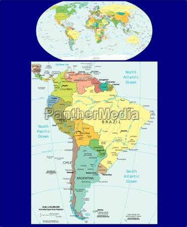 mapa de la region del mundo