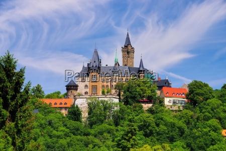 castillo de wernigerode castillo de wernigerode