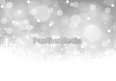 fondo blanco de navidad borrosa
