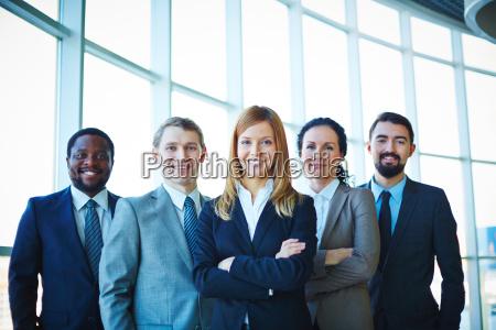 grupo de empleados