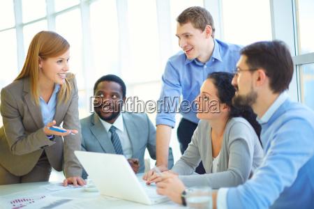 consultoria con companyeros de trabajo
