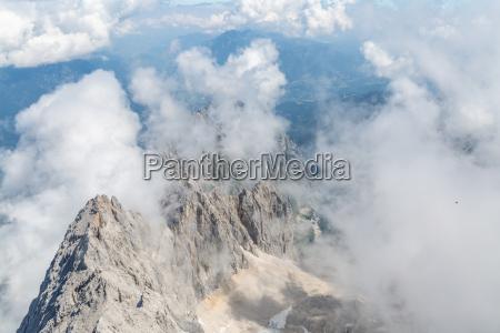 parte superior de la montanya de