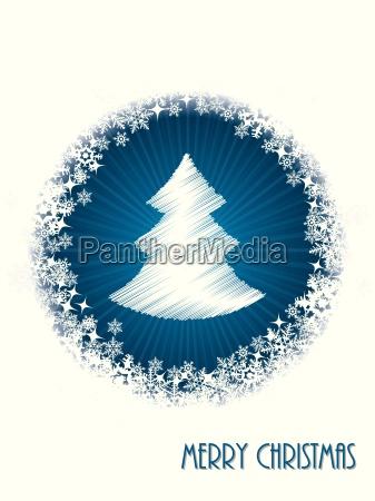 blanco tarjeta de felicitacion de navidad