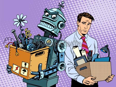 el robot de nuevas tecnologias sustituye