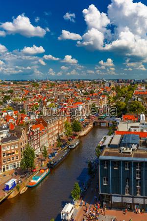 vista de la ciudad de Amsterdam