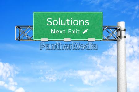 senyal problema solucion respuesta resolver fragestellung