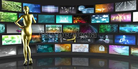 pantallas de video de visualizacion de