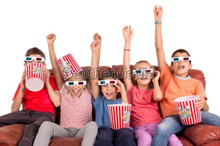 ninyos en el cine