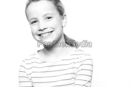little child in studio