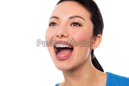 pretty woman calling out loud