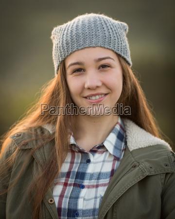 mujer invierno caliente adolescente vestir ninya