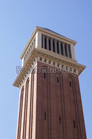 torre espanya plaza barcelona