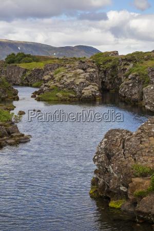 columna islandia rechazo sin nubes agua