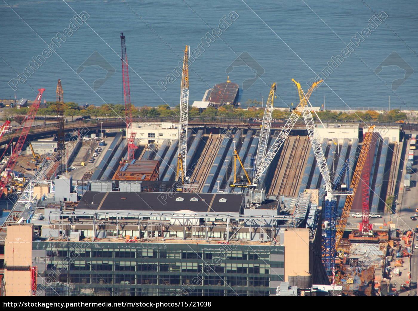 skyscraper, building, site, in, aerial, perspective - 15721038