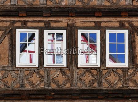 tudor style house in schmalkalden
