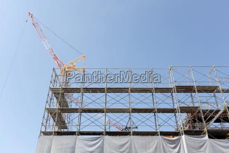 construccion de obra nueva valla de