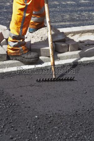 negro asfalto calor carretera el desenfoque