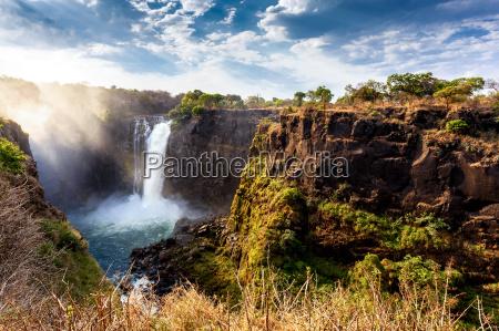 africa cascada zimbabue absturz