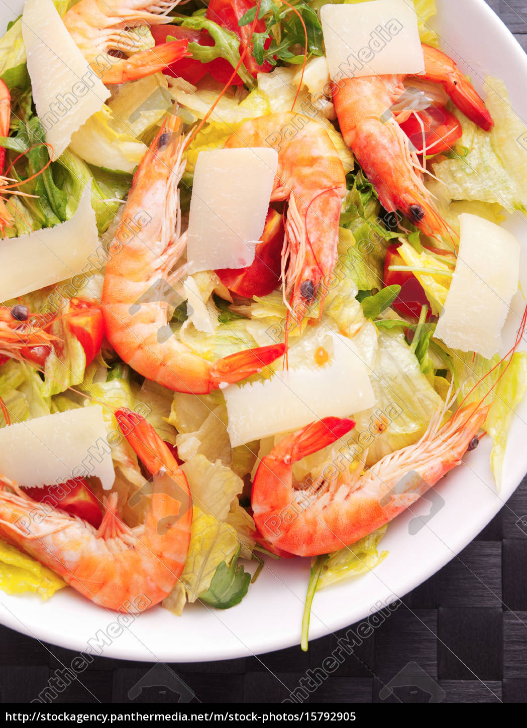 salad, with, shrimps, and, parmesan, cheese, salad - 15792905