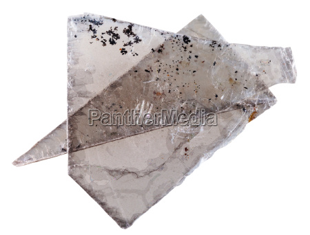 placas de mica moscovita comun mineral