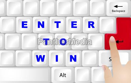 winner concept keyboard