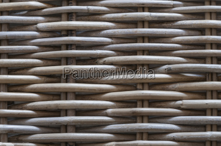 background made of braided basketware